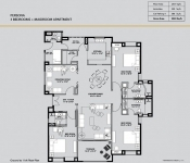 Persona - 3 Bedroom (Gr. to 11th Floor Plan)