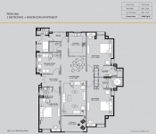 Persona - 3 Bedroom (12th to 114h Floor Plan)