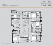 Innova - 4 Bedroom (Gr. to 11th Floor Plan)