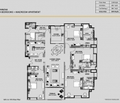 Innova - 4 Bedroom (12th to 17th Floor Plan)