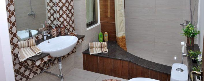 Master Bedroom Attached Bath - II ( Actual Model Apartment )